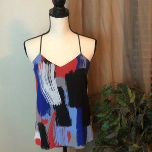 Express Painted Pattern Barcelona Cami Tank Top